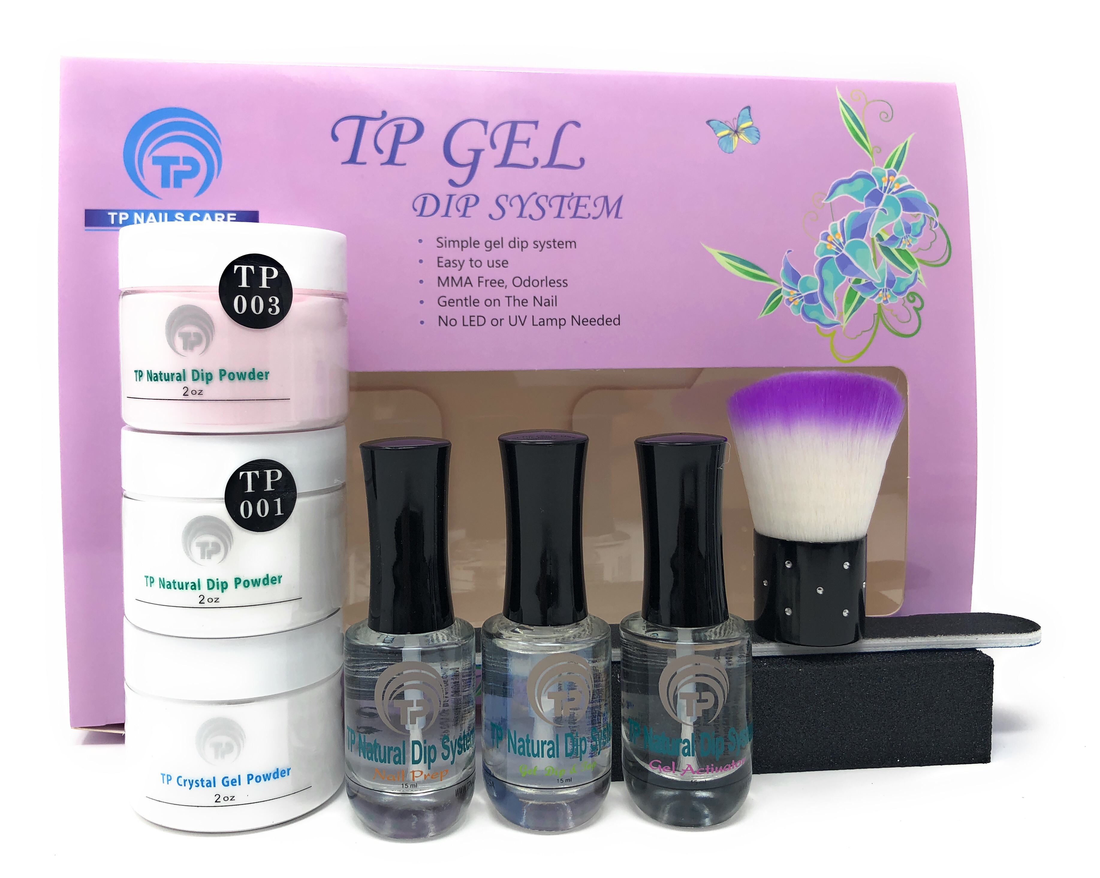 Dipping Powder Starter Kits, TP Nails Care - Ship in USA only